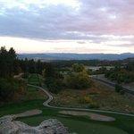 A beautiful Colorado sunset at The Ridge