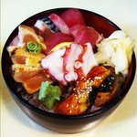 sashimi lunch bowl