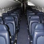 Concorde cabin aisle