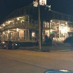 the Gibson inn at night