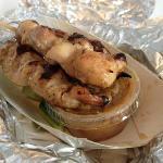 Satay brochette de viande marinée (3)
