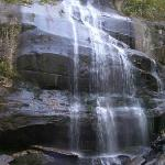 Close up of the falls