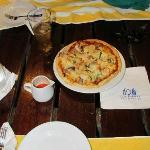 Pizza in the Cavana! Yum
