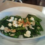 Brocollini, Goats Cheese and Almonds