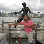 Bruce Lee and I!