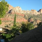 View of The Watchman Mountain from our porch