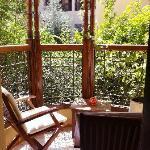 Clementine balcony