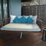 the daybed on the villa-loved it !!!