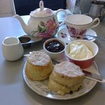 Our cream tea
