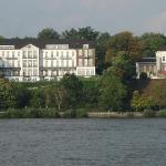 Hotel von der Elbe aus