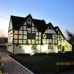 Gupshill Manor at dusk