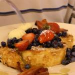 french toast- second course