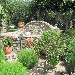 Sophia's Pension gardens