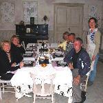 Table d'hôte conviviale