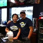 The owners/chefs: Service as good as the food