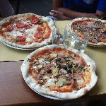 la pizzas enormes