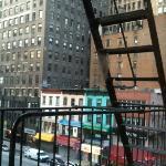 Uscita d'emergenza dal corridoio dell'hotel.. :-)