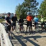 Random cycling group site seeing enroute