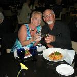 Anniversary dinner at the Dockside