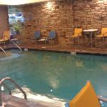 Indoor heated pool but no indoor jacuzzi
