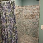 Gorgeous tile shower