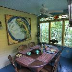 Sunroom - breakfast served here.