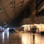 lobby at late night