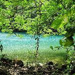 The Blue Lagoon cenote, a few minutes' walk away