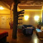 nice and cozy lobby in kangaroo stop