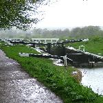 The top lock at Devizes