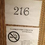 Temp room numbers