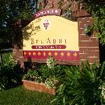 Bel Abri Sign