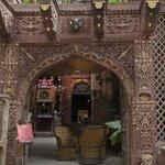 Entrance...JHANKAR...Choti-haveli Restaurant Jodhpur