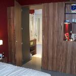 Bathroom (through a wardrobe door!)