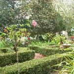 Gardens by outdoor breakfast area