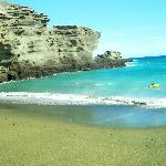 Green Sands Beach, Papakolea Kona Hawaii 09-29-2012