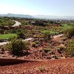 A golf hole