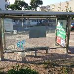 bus stop same side as hotel takes you to cambrils
