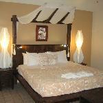 Beachfront villa room