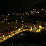 Monaco, la lumiere en nuit.