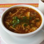 Hot and Sour Soup...spicy and the best I ever had!