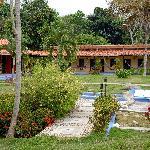Hotel and Zen garden