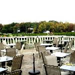 Outdoor seating (weather permitting)