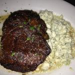 Fillet w/ blue cheese crumbles