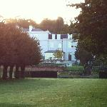 View of the Manor House from the polo fields