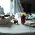 Lounge en ontbijtkamer