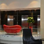 Hotel Lobby - looking at elevators
