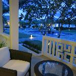 View from Mandarin Villa - Shared pools amongst 2-3 villas, perfect for a night swim