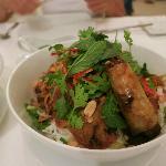 Vietnamese menu