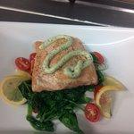 friend's pan seared salmon